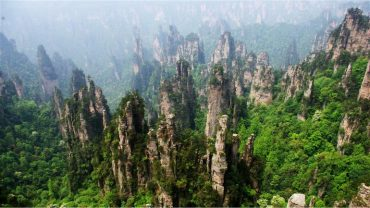 zhangjiajie national forest park in china