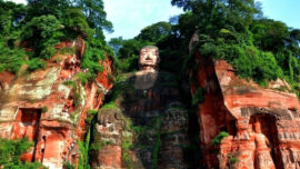 Le Shan Grand Buddha in china