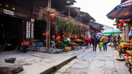 Daxu Ancient Town in china