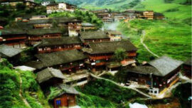 ping'an Zhuang village in china