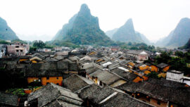 fuli ancient town in china
