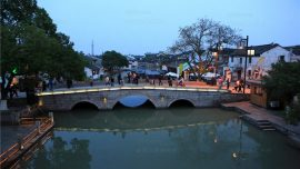 canals in Tongli Ancient Town