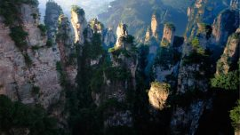 Zhangjiajie Grand Canyon in china
