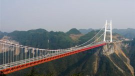 aizhai bridge in china
