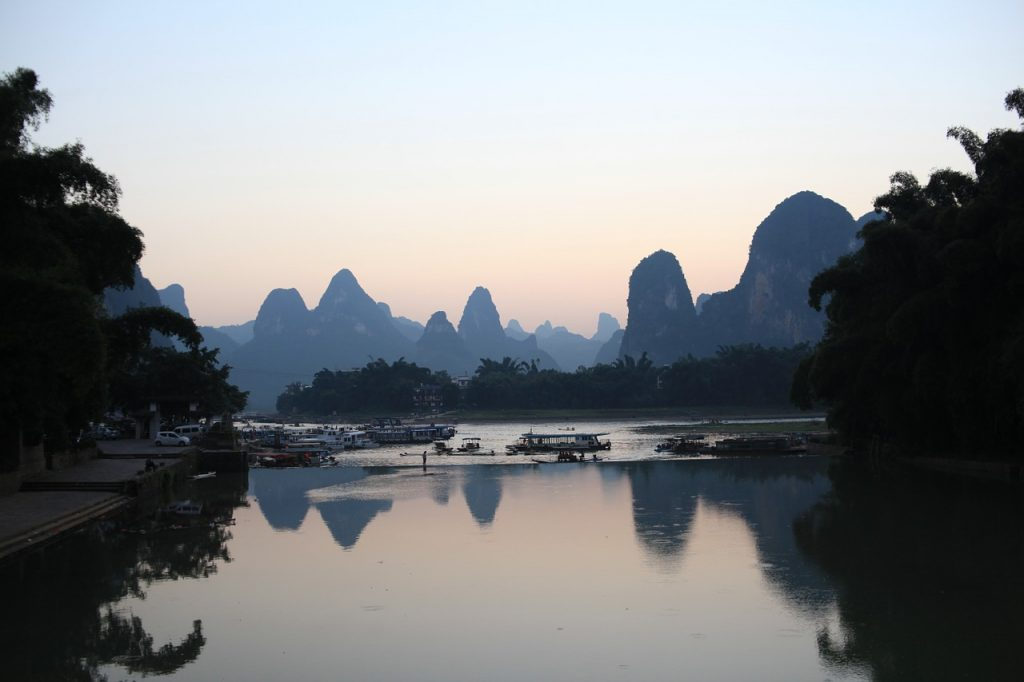 photo of Li river landscape