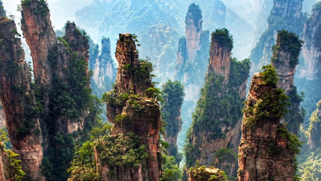 Breath-taking Zhangjiajie