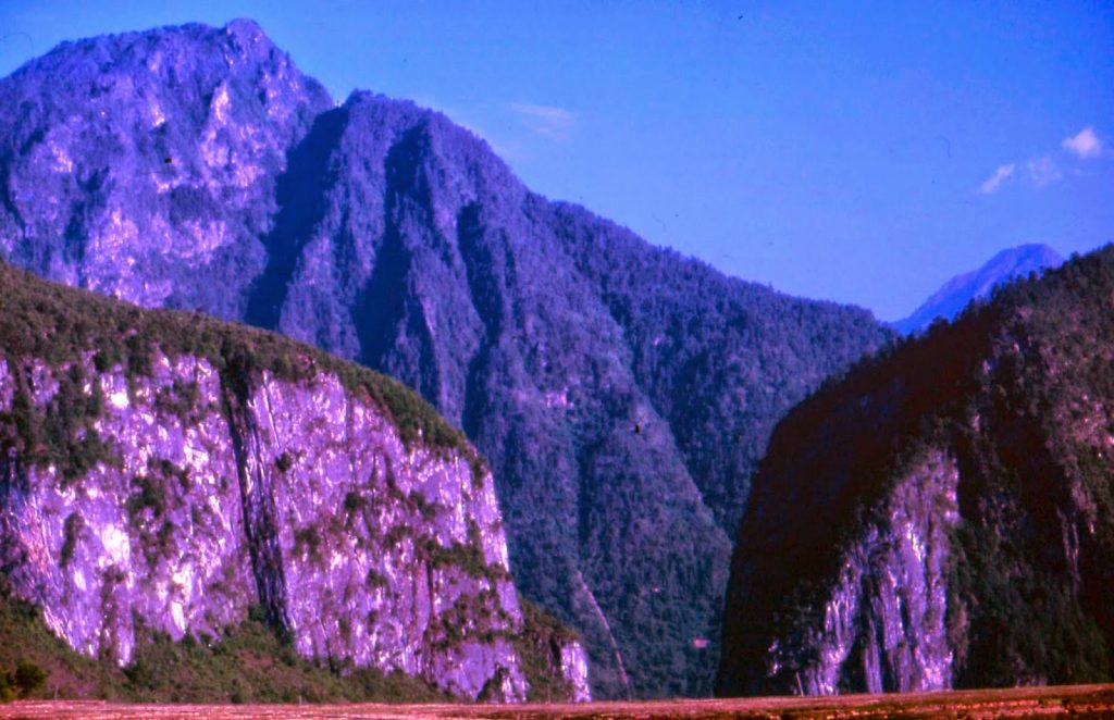 Nujiang Canyon