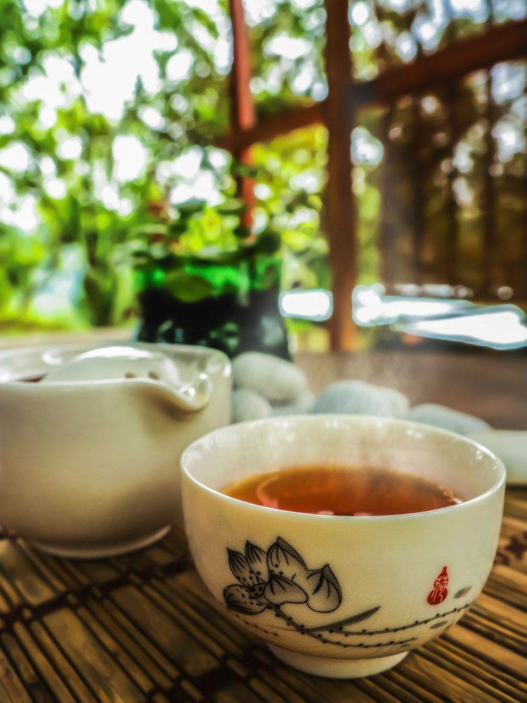 A cup of Chinese tea