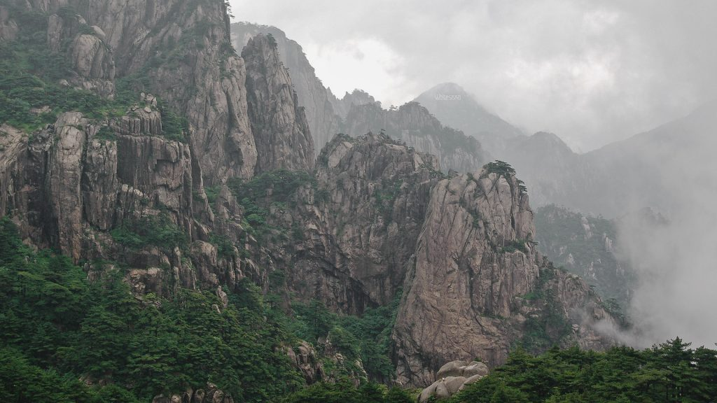 Mountains in China 2