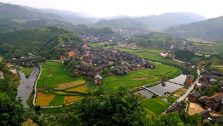 Dong Minority Village