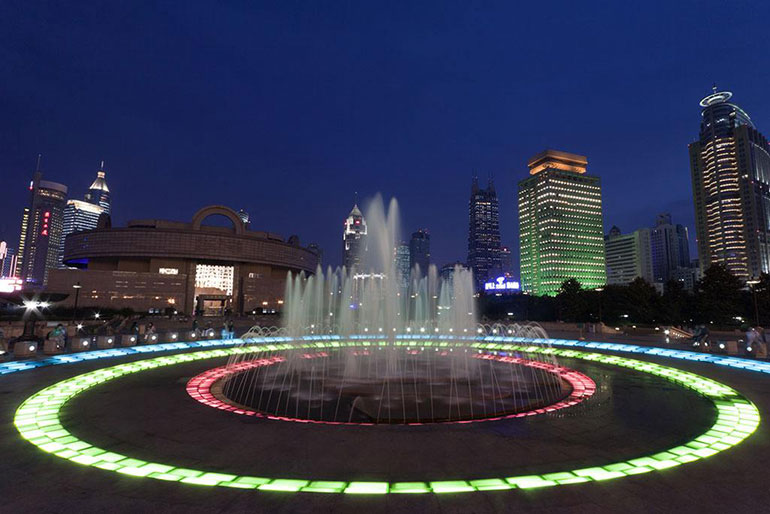 People's Square in Shanghai