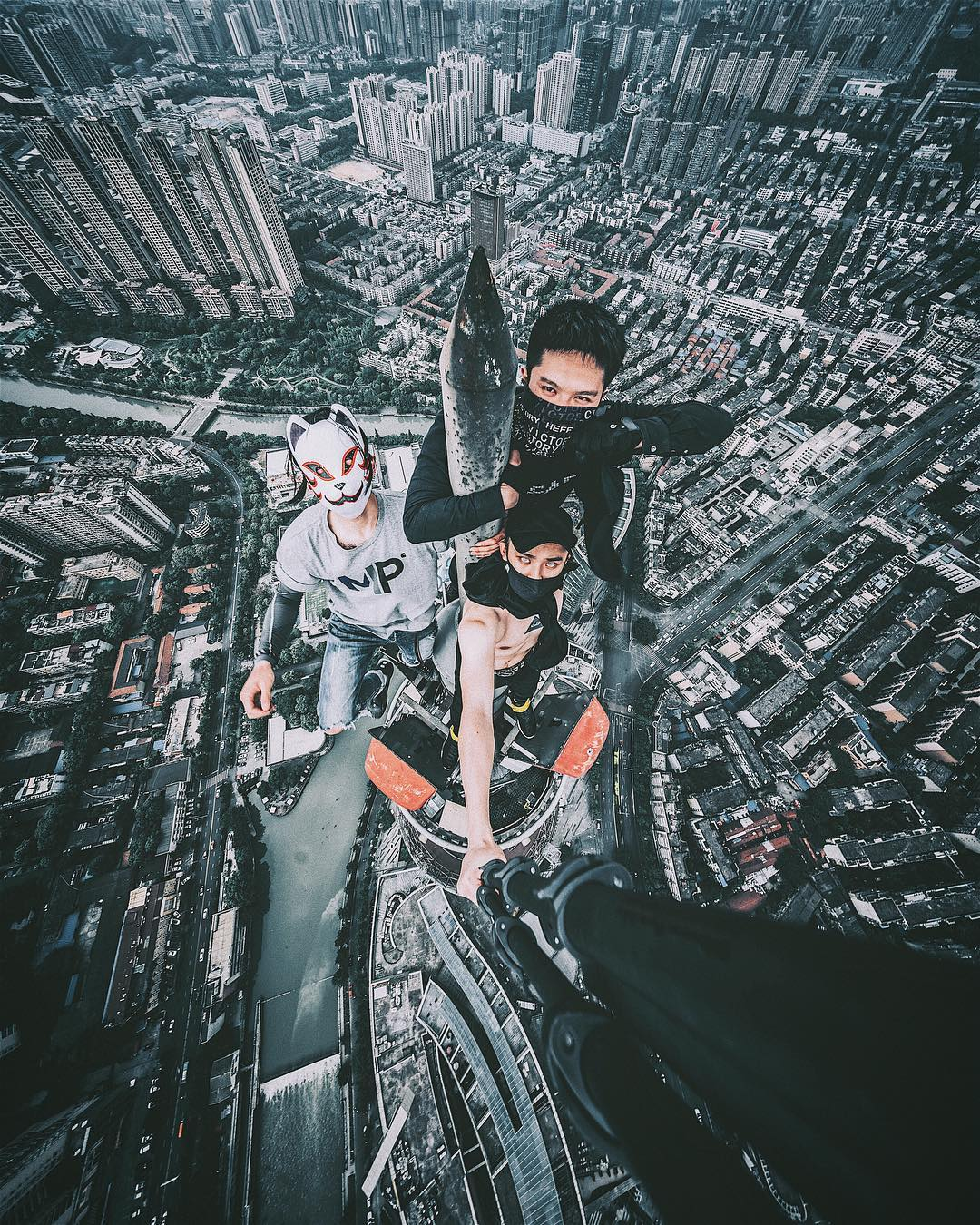 china rooftopping