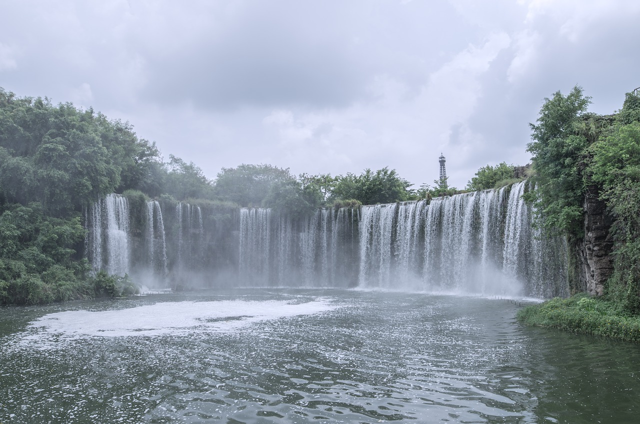 things to do in shenzhen - waterfall