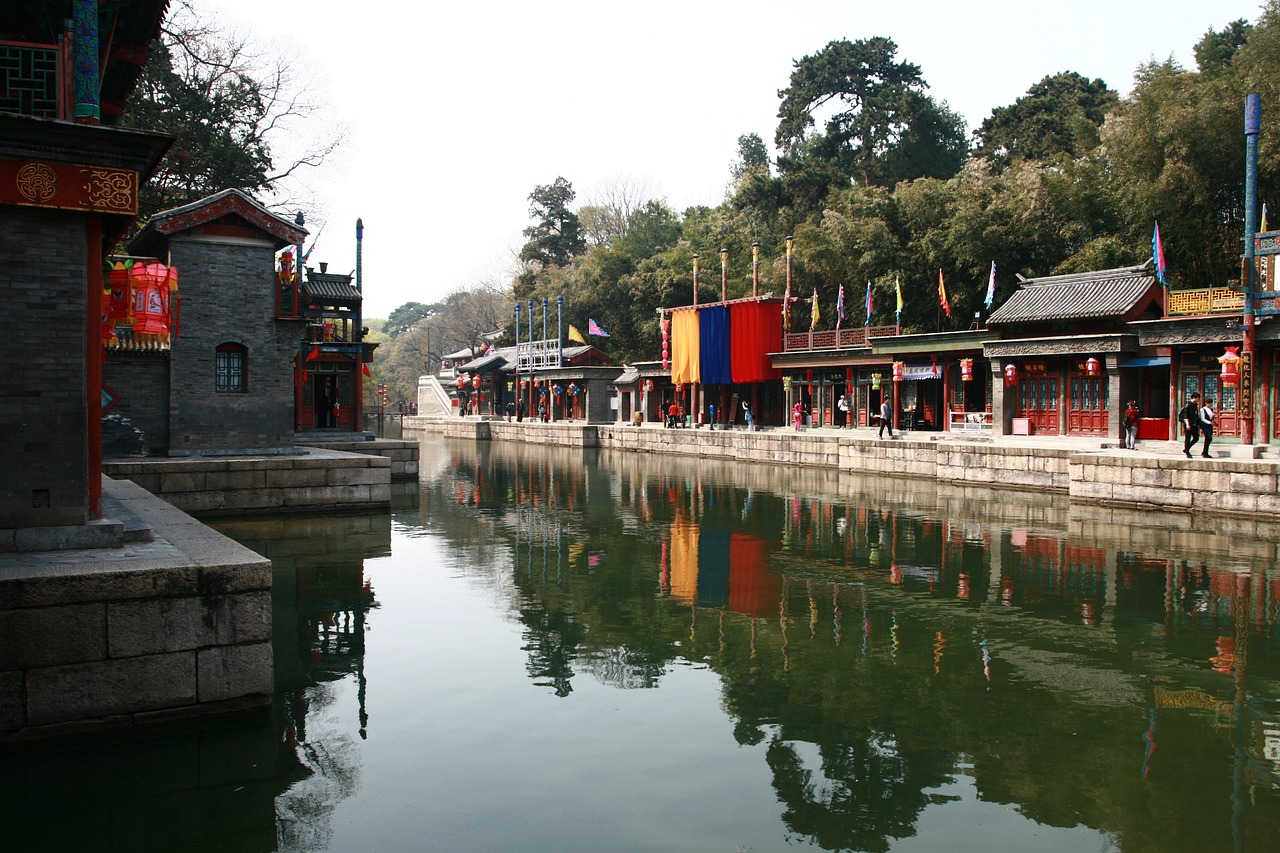 the history of the summer palace