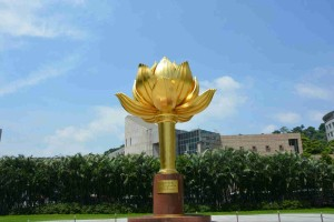 Golden Lotus Square